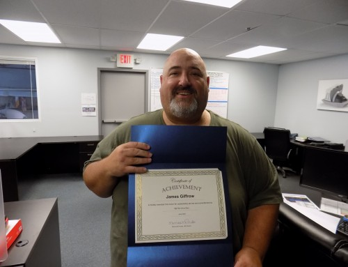 2021 June Recognition and Award Winner James Giffrow